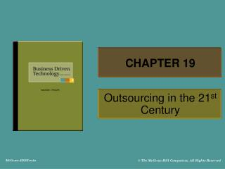 Outsourcing in the 21st Century
