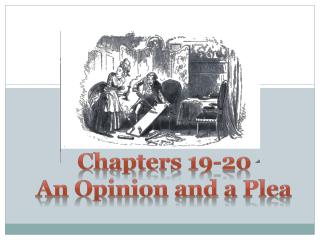 Chapters 19-20 An Opinion and a Plea