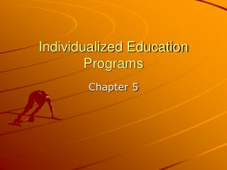 Individualized Education Programs