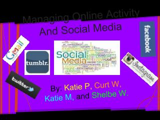 Managing Online Activity  And S ocial Media