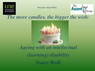 The more candles, the bigger the wish:  Ageing  with an intellectual (learning)  disability