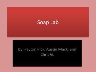 Soap Lab