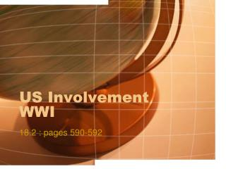 US Involvement WWI