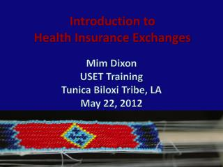 Introduction to Health Insurance Exchanges