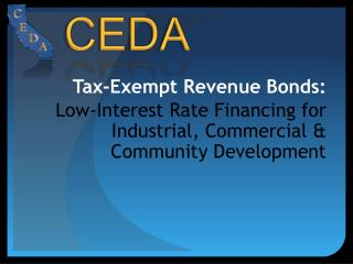 Tax-Exempt Revenue Bonds: