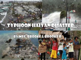 Typhoon Haiyan Disaster