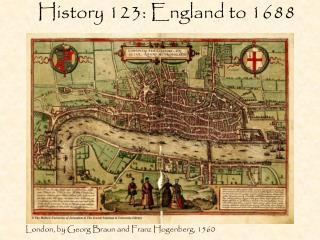 History 123: England to 1688