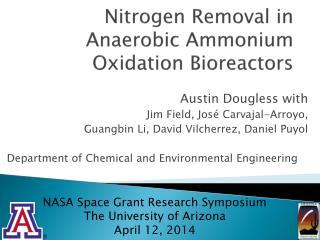 Nitrogen Removal in Anaerobic Ammonium Oxidation Bioreactors