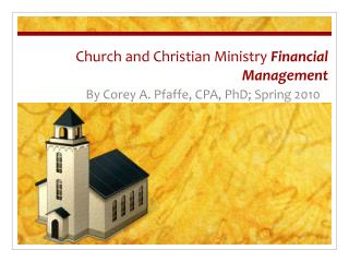 Church and Christian Ministry Financial Management
