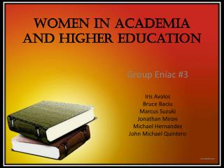 Women In Academia and Higher Education