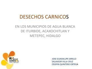 DESECHOS CARNICO S
