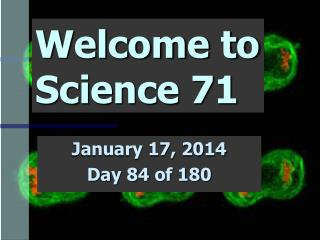Welcome to Science 71