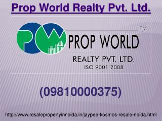 Jaypee Kosmos Resale Flats Price, Jaypee Kosmos Noida Sector