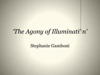 'The Agony of Illuminati  n'