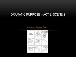 Dramatic purpose – Act 3, scene 2