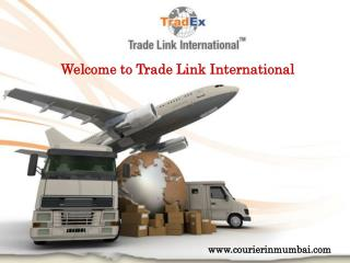 International courier in Mumbai