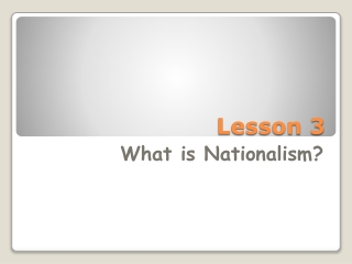 Language and Nationalism