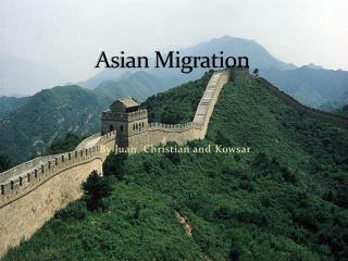 Asian Migration