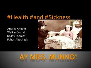 #Health #and #Sickness