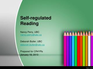 Self-regulated Reading