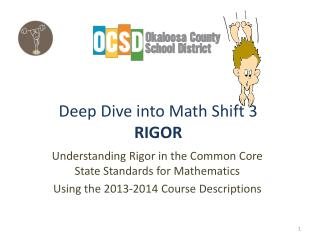 Deep Dive into Math Shift 3 RIGOR
