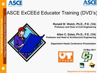 ASCE ExCEEd Educator Training (DVD's)