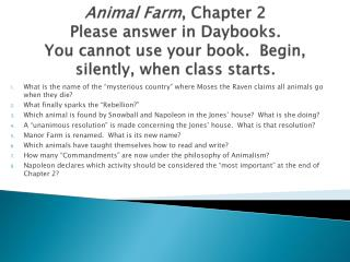 Animal+Farm,+Chapter+2
