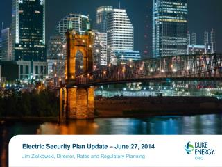 Electric Security Plan Update – June 27, 2014