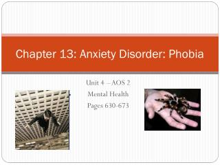 Chapter 13: Anxiety Disorder: Phobia