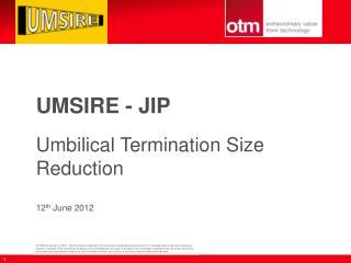 UMSIRE - JIP