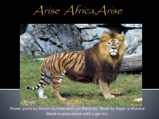 Arise   Africa,Arise