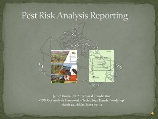 Pest Risk Analysis Reporting