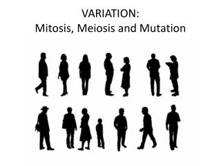 VARIATION: Mitosis, Meiosis and Mutation