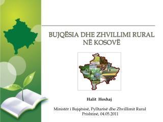 BUJQËSIA DHE ZHVILLIMI RURAL NË KOSOVË