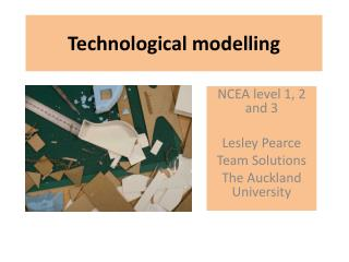 Technological modelling