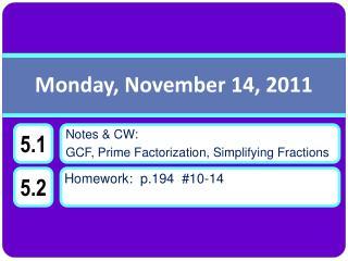 Monday, November 14, 2011