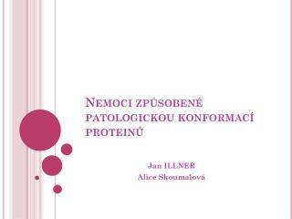 Nemoci způsobené patologickou konformací proteinů