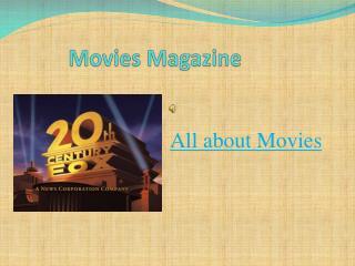 Movies Magazine
