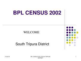 BPL CENSUS 2002
