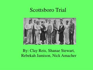 Scottsboro Trial