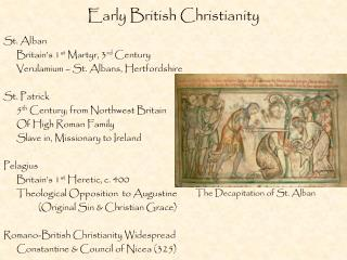 Early British Christianity