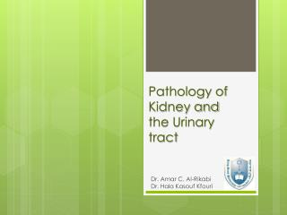 Pathology of Kidney and the Urinary tract