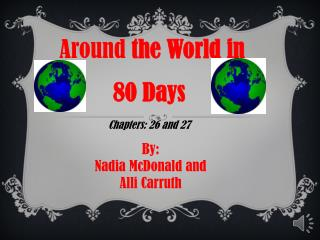 Around  the World in 80 Days  Chapters: 26 and 27