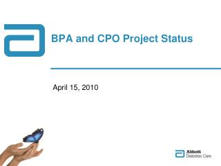 BPA and CPO Project Status