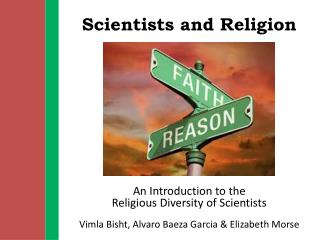Scientists and Religion