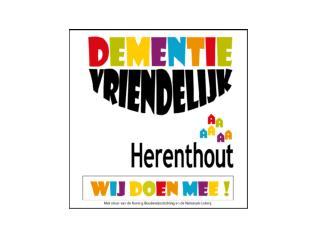 Projectoproep 'dementievriendelijke gemeente' Koning  Boudewijnstichting .