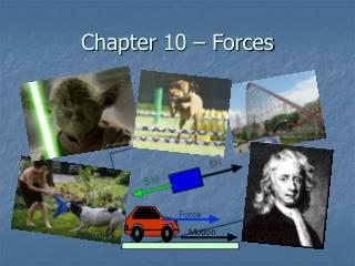 Chapter 10 – Forces