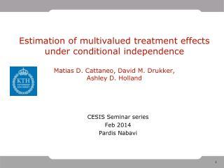 CESIS Seminar series Feb 2014 Pardis Nabavi