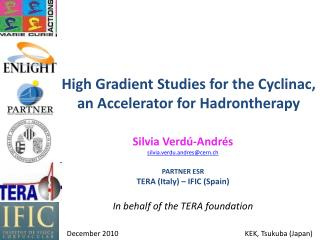 High Gradient Studies for the Cyclinac, an Accelerator for Hadrontherapy
