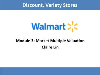 Discount, Variety Stores